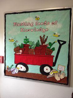 Daycare Bulletin Boards, Spring Bulletin Boards, Preschool Bulletin Boards, Classroom Setting, Classroom Decor, Welcome Back Boards, Christian Bulletin Boards, Teachers Room, School Door Decorations