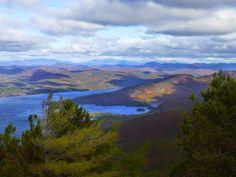 The Tongue Mountain range viewed from Buck Mountain