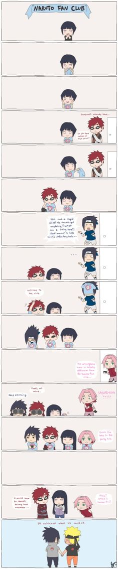 Something silly I wanted to draw : p I do think Sasuke came to terms with his feelings for Naruto some time after Gaara, hehe. Though it's obvious Sakura starts to like Naruto some time in Shippude...