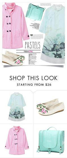 """""""In love with Pastels"""" by dolly-valkyrie ❤ liked on Polyvore featuring chic, New and newchic"""