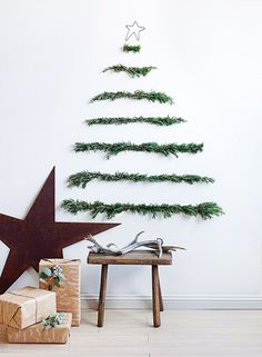 A tree made from long sprigs of rosemary. Donna Hay's Christmas - Temple & Webster Journal