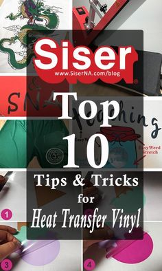 Want expert advice? Team Siser has over 40 years of HTV experience! Click here for the top 10 need-to-know tips and tricks for cutting, weeding, and applying heat transfer vinyl. All from the trusted brand you know and love- Siser! Siser Easyweed, Easy Stretches, Cricut Tutorials, Get Excited, Make It Through, Heat Press, Vinyl Projects, Heat Transfer Vinyl, North America