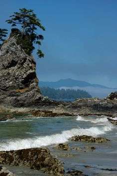 Brady's Beach, Bamfield, Vancouver Island, BC, Canada