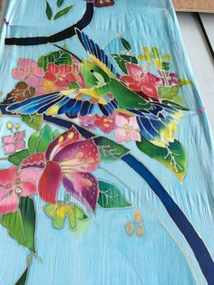 My Newest creation - panels of humming birds