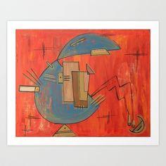 Un Mundo Art Print by Carina Povarchik - $18.00