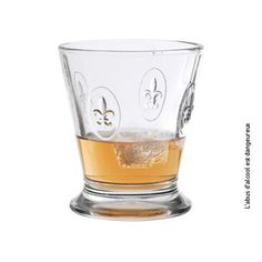 La Rochere - Fleur de Lys Glassware - Tumbler, Set of 6