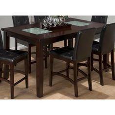Nebraska Furniture Mart – Jofran Chadwick Rectangle Counter Height Table in Espresso