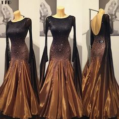 Latin Ballroom Dresses, Ballroom Dance Dresses, Latin Dresses, Trendy Dresses, Nice Dresses, Feather Dress, Dance Fashion, Dance Outfits, Dance Wear