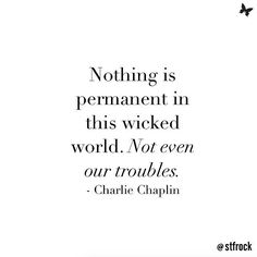 Don't worry your troubles won't ever last  #inspiration #quote #troubles