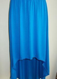 Kup mój przedmiot na #vintedpl http://www.vinted.pl/damska-odziez/spodnice/10885583-spodnica-asymetryczna-midi-niebieska-tammy-36-38