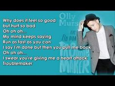 Olly Murs feat. Flo Rida - Troublemaker Lyrics - YouTube