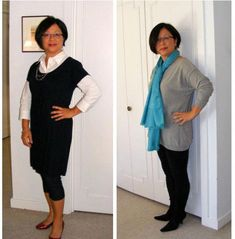 Ideas How To Wear Leggings After 50 Fashion Over 50 For 2019 Plus Size Fashion For Women, Black Women Fashion, Womens Fashion For Work, Fashion Over 50, Trendy Fashion, Winter Fashion, Cheap Fashion, Woman Fashion, Legging Outfits