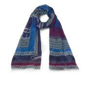 Diane von Furstenberg Women's Hanover Print Scarf - Glass Bands Topaz Every outfit needs a scarf to complete the look!