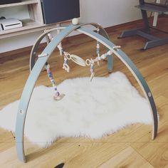 DIY wooden baby gym  @nabben_makes