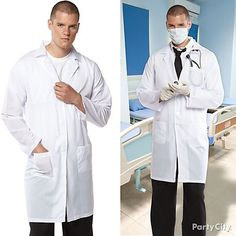 Suit up for duty! Our doctor accessories are the cure for the common costume! Combine hospital gloves, a stethoscope & surgical mask to complete the look!