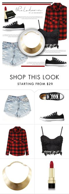 """""""24 Hours in NYC With Lo Bosworth"""" by antemore-765 ❤ liked on Polyvore featuring Converse, GUESS and Dolce&Gabbana"""