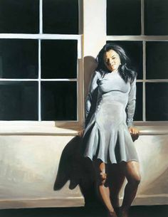 """Eric Fischl """"Mary"""", 1998 (USA, Contemporary Realism, 20th cent.)"""