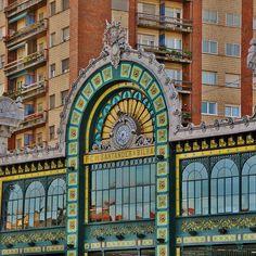 Bilbao. Estación de La Concordia, Euskadi, Basque Country