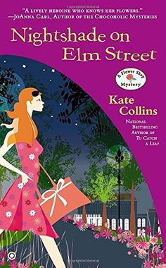 """Read """"Nightshade on Elm Street A Flower Shop Mystery"""" by Kate Collins available from Rakuten Kobo. Enjoy her wedding shower…or receive a cold dunking? In addition to running her flower shop, planning her wedding, and ju. Murder Mystery Books, Mystery Novels, Mystery Series, Best Mysteries, Cozy Mysteries, Flower Shop Mystery, Kate Collins, Thing 1, Elm Street"""