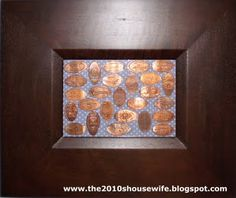 Displaying Smashed Penny collection