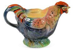 1940s Rooster Teapot