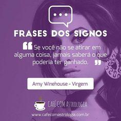 Já dizia a sábia Amy.    #frases #quites #frasedossignos #virgem #amywhinehouse #astros #astrologia #signodevirgem #cafécomastrologia