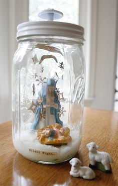 Four Holiday Mason Jar Gifts