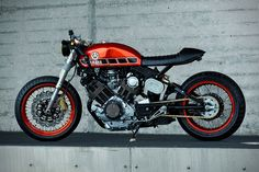 1984 Yamaha TR-1 Cafe Racer By Roland Snel