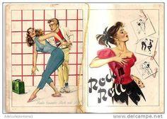 calendario del tipo in uso dai barbieri anno 1959