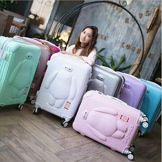 """Goedkope 20 """"24"""" 26 rolling bagage trolley abs reizen koffer jongen meisje…"""