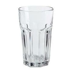 POKAL glass, clear glass Height: 14 cm Volume: 35 cl