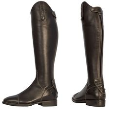 riding boots women | De Niro Riding Boots - Caprice Soft Leather Riding Boots - Equiport