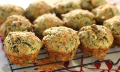 Freezer friendly and perfect to eat for brunch or to add to lunch boxes, these savoury muffins are deliciously filling.