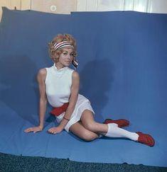 Fashion: Women's Fashion. Knee-length socks with miniskirt (East Germany). Photo, c. East Germany, Akg, Retro Color, Fashion Women, Mini Skirts, Feminine, Socks, Colour, Search