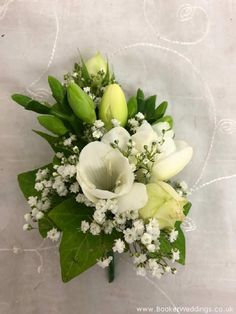 Wedding Flowers Liverpool, Merseyside, Bridal Florist, Booker Flowers and Gifts, Booker Weddings White Corsage, Our Wedding, Wedding Venues, Wedding Corsages, Vera Wang Wedding, White Wedding Flowers, Boutonnieres, Bridesmaid Bouquet, Mother Of The Bride
