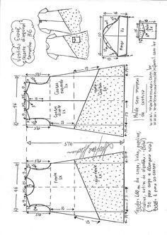Vestido evasê com recorte diagonal | DIY - molde, corte e costura - Marlene Mukai