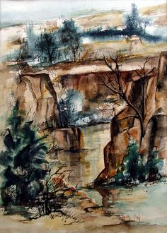 Quartet Falls, Idaho by Christy Monk