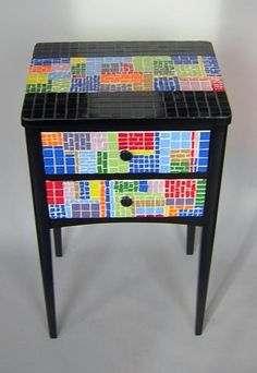 I just love this and I have the perfect piece of furniture