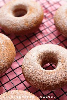 Gluten-Free Pumpkin Donuts  by Gluten-Free Goddess