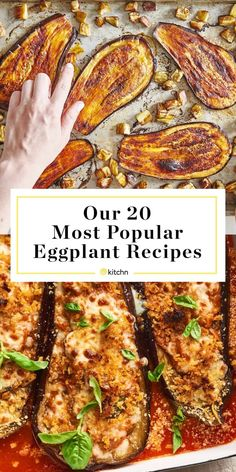What does eggplant taste like? Is it delicious? What's the best way to make eggplant Parmesan? All the things you really need to know about eggplant, and more. Veggie Dishes, Vegetable Recipes, Beef Recipes, Vegetarian Recipes, Cooking Recipes, Healthy Recipes, Egg Plant Recipes Healthy, Fast Recipes, Eat Healthy