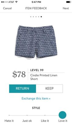 Level 99 Cindie Printed Linen Short. I love Stitch Fix! A personalized styling service and it's amazing!! Simply fill out a style profile with sizing and preferences. Then your very own stylist selects 5 pieces to send to you to try out at home. Keep what you love and return what you don't. Only a $20 fee which is also applied to anything you keep. Plus, if you keep all 5 pieces you get 25% off! Free shipping both ways. Schedule your first fix using the link below! #stitchfix @stitchfix…