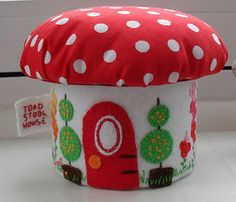 Toadstool House...comes apart