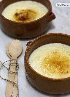 Esta receta de arroz con leche tradicional es de la cocinera asturiana Cristina Buznego. Lo que más me ha gustado de ella es que resulta muy cremo...