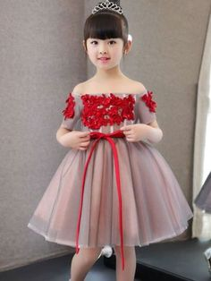 Toddler Baby Girl Princess Kid clothes round neck sleeveless Tassel Tulle Polyester backless Sequin Party Mini Dresses one piece