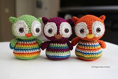 Ravelry: Baby Owl pattern by Little Muggles