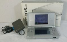 Nintendo DS LITE Silver Handheld Console ~  Model #USG-001 Charger Included #Nintendo #KidDistractomatic