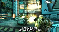 SHADOWGUN android aksiyon oyunu