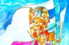 Llamas, Victoria, School, Painting, Walking Gear, Military Dictatorship, Social Awareness, Grandmothers, Human Rights