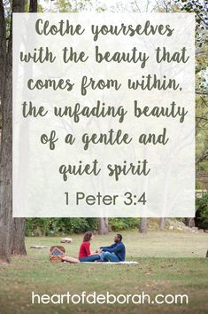 How can I still be a strong women while embracing the beauty of a gentle and quiet spirit? In this post, I sharing my thoughts as a Christian wife.