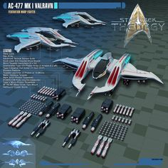 AC-477 Valravn-class Warp Fighter by Auctor-Lucan.deviantart.com on @DeviantArt
